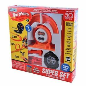 World's Smallest Hot Wheels - Super Set - 4 Sets All-In-1 Box