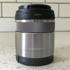 Sony SEL 30mm f3.5 Aspherical ED Lens - Macro - excellent condition