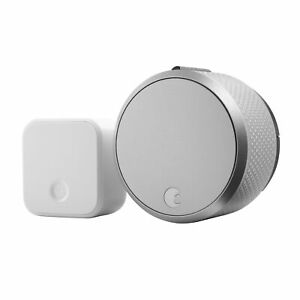August Smart Lock Pro + Connect Wireless Lock Works With Amazon Alexa AirBnB