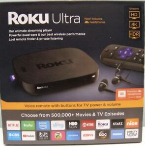 ROKU ULTRA HD 4K MEDIA STREAMER 4661R Latest Edition BLACK NEW IN BOX
