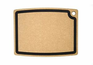 Epicurean Gourmet Series Cutting Board, 19.5-Inch by 15-Inch, Natural/Slate