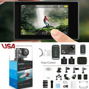 Akaso V50 Elite Ultra HD 4K60fps Action Camera 20MP Touch Screen Voice Co