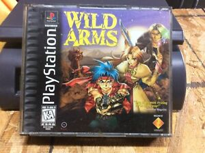 Wild Arms (Playstation PS1 PSX) Complete CIB Tested And Works See Photos