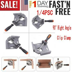 1 4PCS 90° Right Angle Two Axis Welding Clamp Aluminum Alloy Woodworking Tool US $20.99