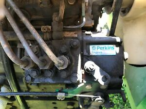 Perkins 103.13 Complete Running Diesel Engine From Ransomes Mower.  Caterpillar