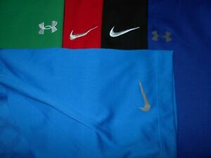 Lot 5 Under Armour Nike Dri-Fit Fit-Dry Mens Polo Shirts XL X Large 2 NWOT
