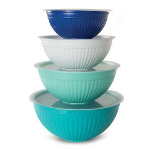 Nordic Ware 8 Piece Covered Bowl Set