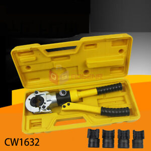 10T Hydraulic Pex Pipe Crimping Tools Pressing Plumbing Tools Clamping Tools