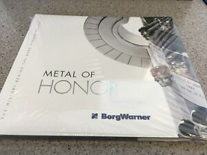 BorgWarner Metal of Honor Indy 500 RARE BOOK NOT SOLD IN STORES $35.00