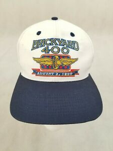 Brickyard 400 Indianapolis Motor Speedway 1996 Top Of The World Hat Snap Back $14.44