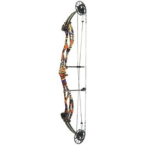 NEW PSE ARCHERY SUPRA FOCUS XL TARGET BOW 60# GOOD VIBES CAMO RIGHTHAND