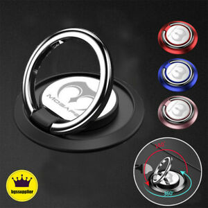Universal 360 Rotating Metal Finger Ring Stand Holder For Cell Phone iPhone $6.23