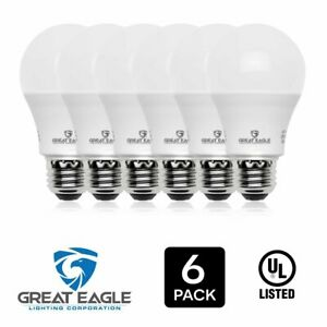 Great Eagle 100W Replacement Dimmable A19 LED Bulb, Bright White, 1550 Lm, 3000K