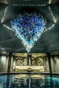 Dale Chihuly 2k piece Chandelier 12x12' Includes Install worldwide Glass Art BO