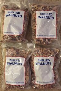 4 Lbs-English Walnuts English 4-1lb Bags Mariani Nut Co