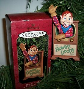 1997 Hallmark Ornament ~ HOWDY DOODY ~ 50th Anniversary Edition