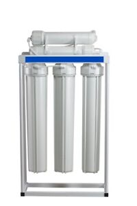 RO WATER 250 GPD LIGHT COMMERCIAL LINE PRESSURE RO SYSTEM WITH 20quot; PRE FILTERS