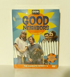 BBC Good Neighbors: The Complete Series 1-3 (DVD 2005 4-Disc Set) NEW REGION 1