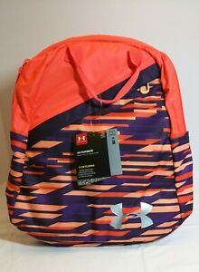 Girls Under Armour Favorite Backpack 3.0 Peach Purple #1305315