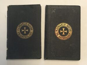 Rare Antique Raphael's Guide to Astrology Books Vol.I & II 4th Ed 1891 Hardcover