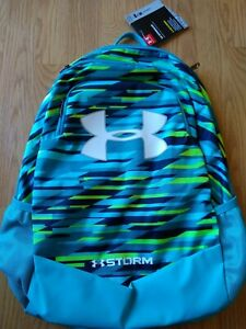 Under Armour STORM SCRIMMAGE Laptop Backpack Boy's Blue UA NEW NWT $40.99