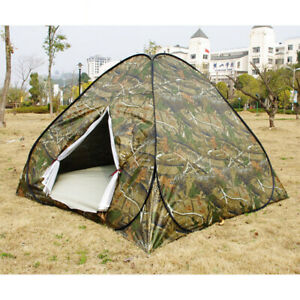 Waterproof 3 4 Person Automatic Instant Pop Up Outdoor Camping Tent Family Camo