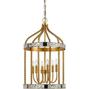 CAL Lighting & Accessories FX-3599-6 Glenwood Pendant