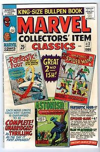 Marvel Collectors Item Classics #2 with FF, Spider-Man & Ant Man, VF - Nr-Mint*