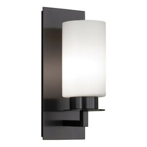 Norwell Lighting 9670-BR-MO Jade 1 Light 5 inch Bronze Wall Sconce Wall Light