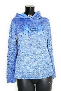 UNDER ARMOUR Womens Cold Gear Blue XS Hoodie Jacket