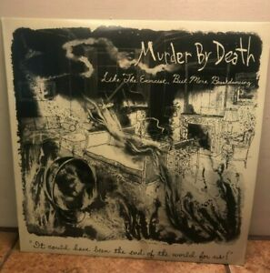 Murder By Death Like the Exorcist But More Breakdancing (LP) RED VINYL RARE OOP