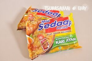Mie Sedaap Curry + Special Curry + White Curry Lot 6 INDONESIA INSTANT NOODLES