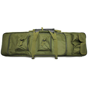 39quot; Tactical Hunting Military Heavy Duty Rifle Gun Bag Padded Carrying Backpack