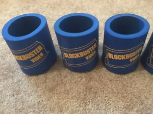 Vintage BLOCKBUSTER VIDEO Up To 3 Can Coozie Funny 90's Relic VHS Rental Koozie
