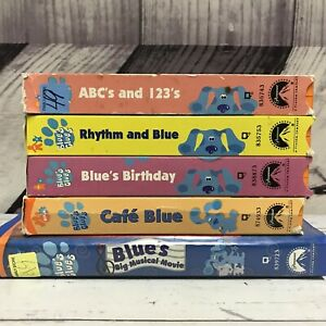 Blues Clues Vhs Tapes For Sale