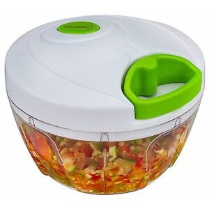 Travel Manual Chopper 3 Cup Capacity Foods Vegetable Herb Camping Cooking NEW