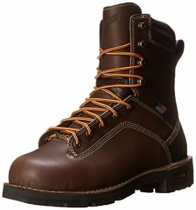 Danner Men's Quarry USA 8-Inch BR AT Work Boot Color BROWN