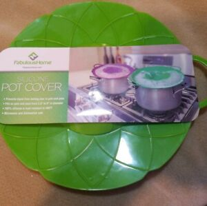 Fabulous Home Silicone Pot Cover New Green