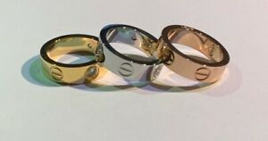 UNISEX LOVE RING 6MM FOR BEST QUALITY AND PRICE