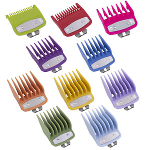new Premium metal clip guard Guides Combs Guards Pack of 10 psc gold