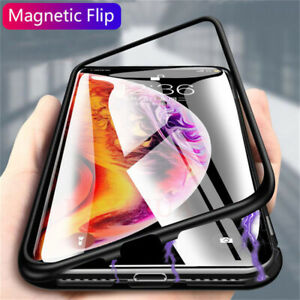 Magnetic Absorption Case For iPhone 1111 Pro Max11 Pro 2019 Metal Bumper Cover