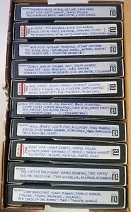 LOT#66 10 RANDOM TV recorded Betamax tv movies shows commercials RAINBOW DRIVE