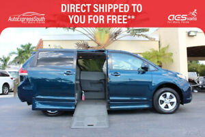 2011 Toyota Sienna LE V6 Wheelchair Power Ramp Van 2011 TOYOTA SIENNA LE BRAUN POWER SIDE ENTRY WHEELCHAIR VAN 75K MILES