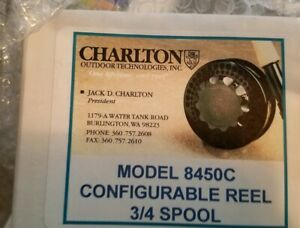 Charlton Fly reel 8450c new in box. With 34 spool