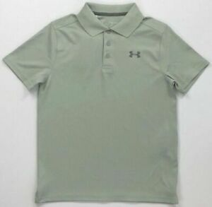Boy's Youth Under Armour Heat Gear Loose Fit Polo Shirt $19.99