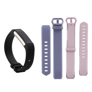 Fitbit Alta HR Activity Tracker Bundle with 3 Small bands FB408SBKS