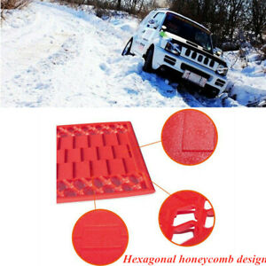 Car Snow Mud Off The Hook Plate Tire Mat Sand Sand Chain 2X $52.99