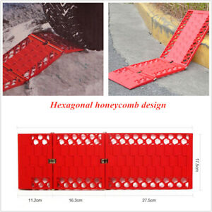Rubber Material Car Snow Mud Off The Hook Plate Tire Mat Sand Sand Chain $52.99