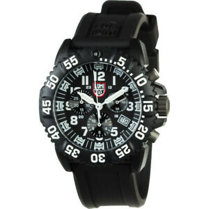 LUMINOX Navy Seal Colormark Chronograph Watch - XS.3081.L  BlackWhite
