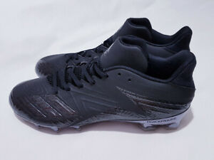 ADIDAS SM Freak x Carbon Low ASSY Size 11.5 Football Cleats Black BY3898